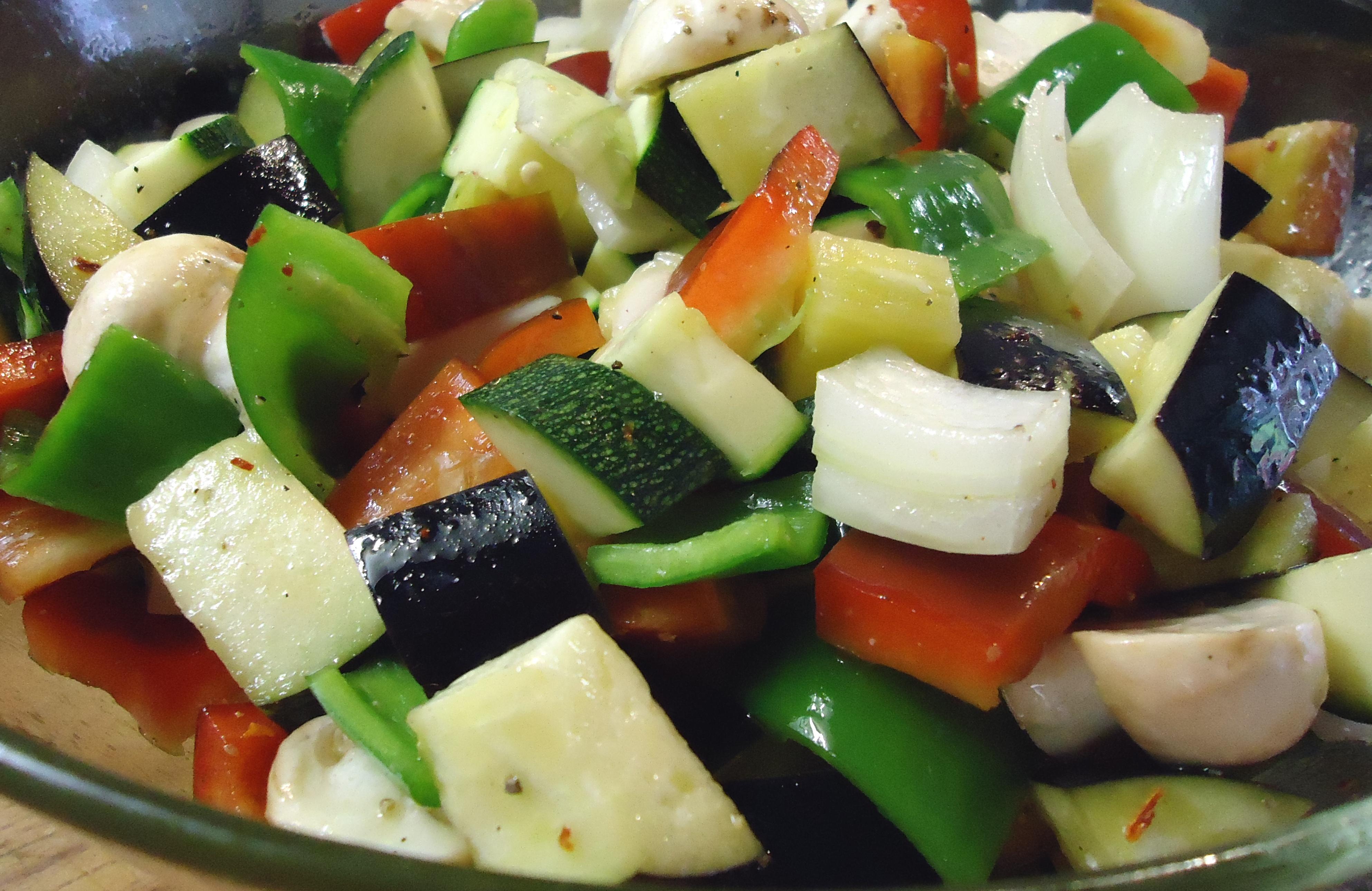 Verduras salteadas con el delantal de rayas - Como hacer verduras salteadas ...