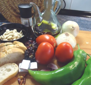 Ingrediente + los caracoles