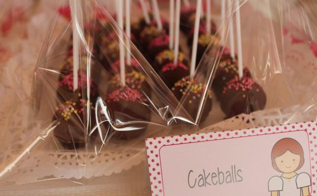 Cakeball, para mesa dulce