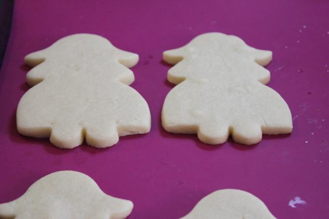 Preparación para galletas decoradas, comunión
